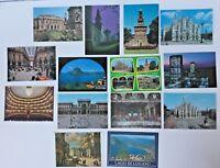 LOT 14 VINTAGE MILANO, ITALY POSTCARDS