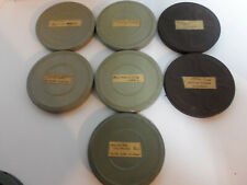 Vintage Lot of 7 Films 8mm Film Reels Castle Films Chimp Adventures Disney