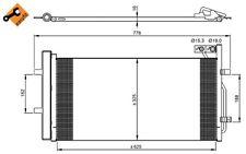NRF Condensador, aire acondicionado AUDI Q3 350029