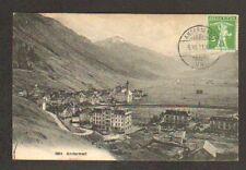 ANDERMATT (SUISSE) VILLAS , HOTEL & EGLISE en 1911