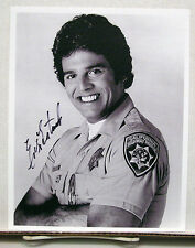 Erik Estrada/CHiPs TV Autograph 8X10 Photo #2