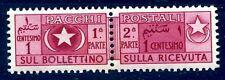 SOMALIA AFIS 1950 -  PACCHI POSTALI  Centesimi 1 nuovo **