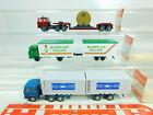 BT349-0,5 #3x wiking H0 / 1:87 Truck Magirus: 426 Flowers +503 Vdk + 522,VG Box