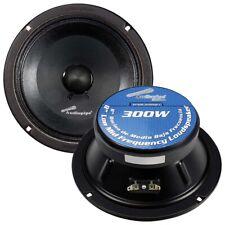 "Audiopipe APMB838SBC Mid Range 8"" Speaker 300W Max 3"" Mounting Depth 1 Unit NEW!"