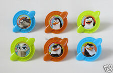 12 Penguins of Madagascar Secret Agent Cup Cake Rings Topper Party Favor Supply