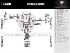 Fits Nissan Maxima 2000-2001 Radio NO CD Player models Large Wood Dash Trim Kit