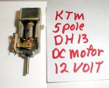 Dh 13 Motor by Ktm 5 pole armature In-Line 12 Volt Vintage 1960's slot car Nosau