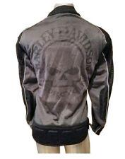 HARLEY DAVIDSON Mesh Riding SKULL Jacket Men's Sz  2XL MINT w/ ELBOW PATCHES