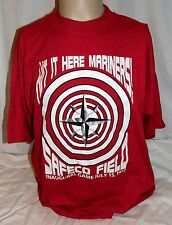 Rare Seattle Mariners Hit It Here Safeco Field Inaugural Game July 15 99 TShirt