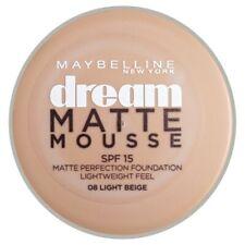 08 Light Beige - Fond de Teint Dream Matte Mousse FPS18 de Gemey Maybelline
