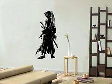 Vinyl Wall Decal. Sticker. Meiji Swordsman - Kenshin (22in x 10in)