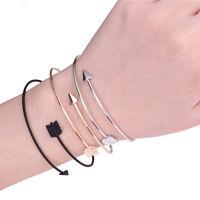 Women Girls Vintage Arrow Open Bangle Armlet Arm Cuff Ethnic Upper Arm Bracelet