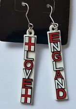 England earrings