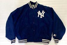 Vintage New York Yankees Starter Diamond Collection Bomber Jacket XXL