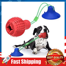 New listing Rubber Interactive Tug Dog Chew Toys w/ Strong Suction for Aggressive Chewers
