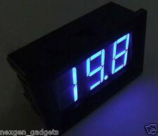 Digital LED Voltmeter Panel Volt AC 60 - 500V Voltage Meter BLUE