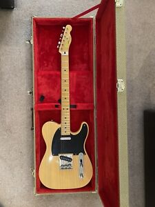 Squier Classic Vibe '50s Butterscotch Telecaster Electric Guitar AND Hard Case