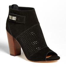 NIB DV by Dolce Vita Marana Onyx Black Suede Ankle Boot Bootie Size 11 Heels NEW
