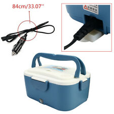 Portable 1.5L 12V Car Electric Heating Lunch Box Food Meal Heat Preservation