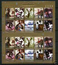 Nederland NVPH 2306-15 Vel Decemberzegels 2004 Goede Doelen Postfris