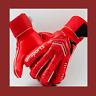 Men's professional soccer gloves red goalkeeper gloves new protection