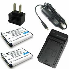 Charger+2x Battery for Li-42B Olympus Stylus 850 550 WP 1200 7010 7000 7030 7040