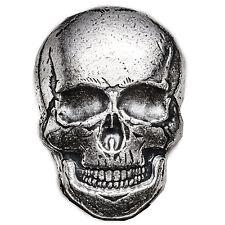2 oz Silver Skull - Monarch Precious Metals (Human Skull) - SKU #118178