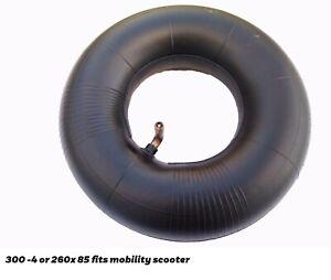 3.00-4 INNER TUBE FOR TROLLEY, MOBILITY SCOOTER, 260x85 INNERTUBE  x 1