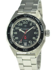 Vostok Komandirskie 650541 Russian Military Wrist Watch Automatic 24 Hours