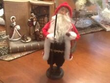 1999 Byers Caroler - Red Victorian Santa - with Tag