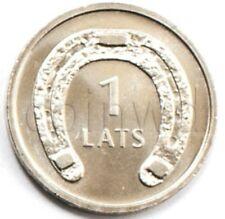 Latvia 1 lat 2010 Horseshoe down UNC (#1314)