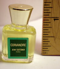 CORIANDRE PARFUM BY JEAN COUTURIER PARIS MINIATURE SPLASH UNBOXED MADE IN FRANCE