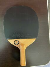 Antique Japanese Penhold Table Tennis Blade Nittaku with new rubber