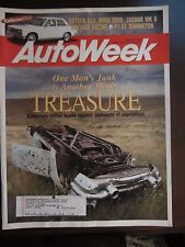 Autoweek Magazine April 1993 One Man's Junk Another Man's Treasure (O)