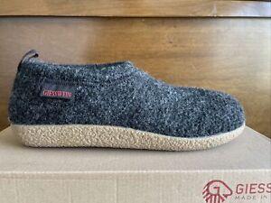 Giesswein Vent Boiled Wool Slippers 41 birkenstock unisex arch support 8 10 NIB