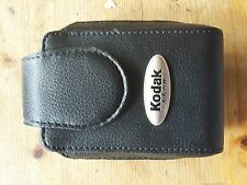 Kodak  Black Leather Compact Camera Case UK Stock
