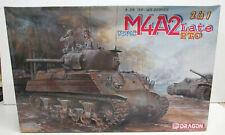 CHAR D'ASSAUT - SHERMAN M4A2 USMC late PTO - Maquette 1/35eme DRAGON - 6462