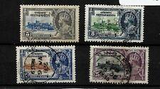 Straits Settlements, 1935 KGV Jubilee, complete set used (M306)