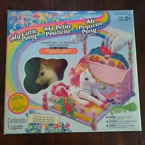 my little pony g2 canopy bed