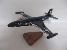 F2H-3 Banshee Airplane Desktop Wood Model