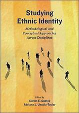 Studying Ethnic Identity: Methodological Conceptual Approaches Across...