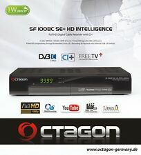 Octagon SF 1008C HD Intelligence SE+ Kabel FullHD CI+ Linux USB Inkl. HDMI Kabel