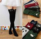 Women Girls Lovely 3D Cartoon Animal Thigh Stockings Over Knee High Long Socks