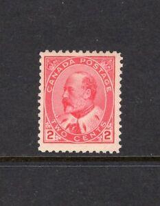 Canada 1903 E7 2c Type 2 MNH #90 CV$135