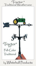 "Whitehall Tractor ""John Deere Look Alike"" Color Weathervane 30"" with Roof Mount"