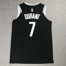 Kevin Durant #7 Brooklyn Nets Camiseta Jersey Baloncesto Cosido Negro