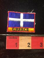 Vintage Embroidered GREECE Country Patch 695