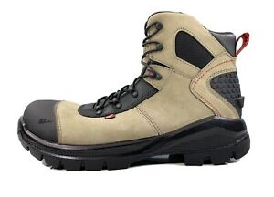 """Red Wing CRV 6"""" Beige Leather Waterproof Safety Toe Work Boot 4426 Men Size 11"""