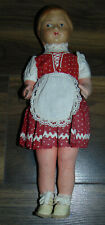 Antique Vintage Bisque Paper Mache Doll 1930's Painted Face Marked France
