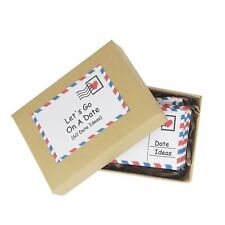 Date Night Cards Paper Anniversary gift For Couple Wedding Romantic